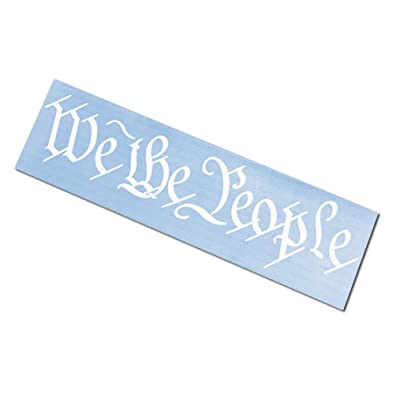 "Rdecals We The People Decal/Sticker Various Sizes Second Amendment (30""): Automotive"