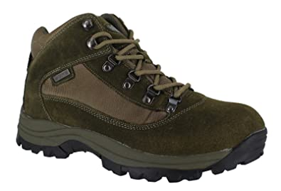 Mens Nevada Fully Waterproof Walking/Hiking Lace Up Trainer Shoe LE_1464