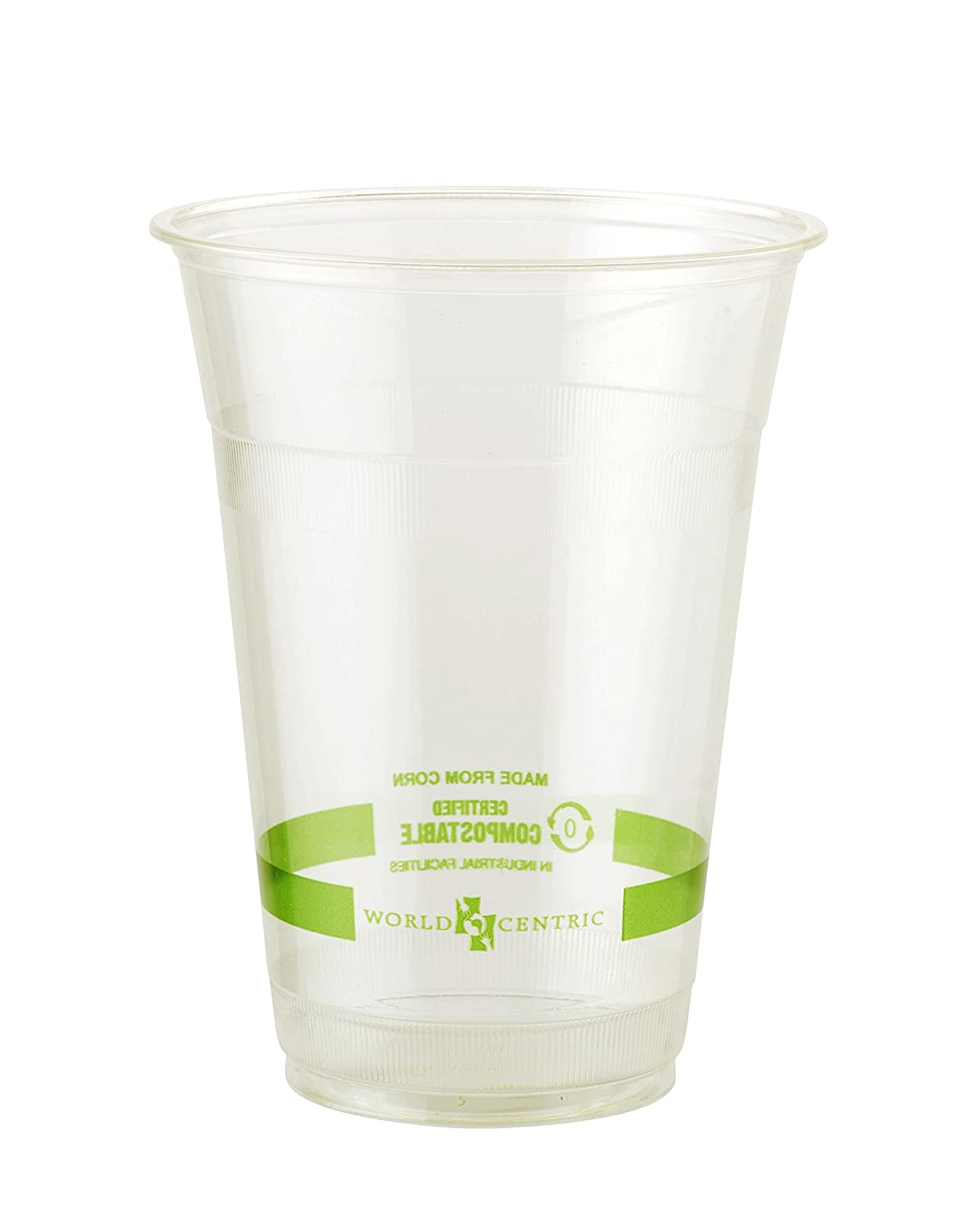 World Centric CP-CS-16 100% Compostable Ingeo Cold Cups, 16 oz, Clear (Pack of 1000)