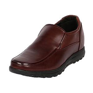 Men's Brown Slip On Semi Dress & Casual Shoes 3