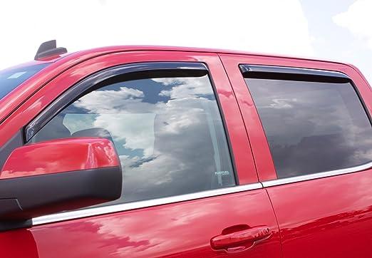Auto Ventshade 894083 Smoke Low Profile Ventvisor Side Window Deflectors for 2019 Ford Edge 4pc Set