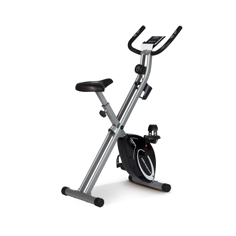 Ultrasport F-Bike Design Bicicleta estática de fitness plegable ...