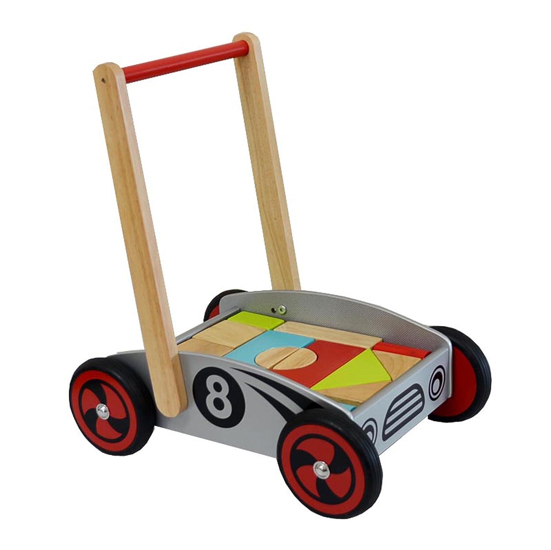 Lauflernwagen mit Bausteinen - I'm Toy Bausteinwagen Racer
