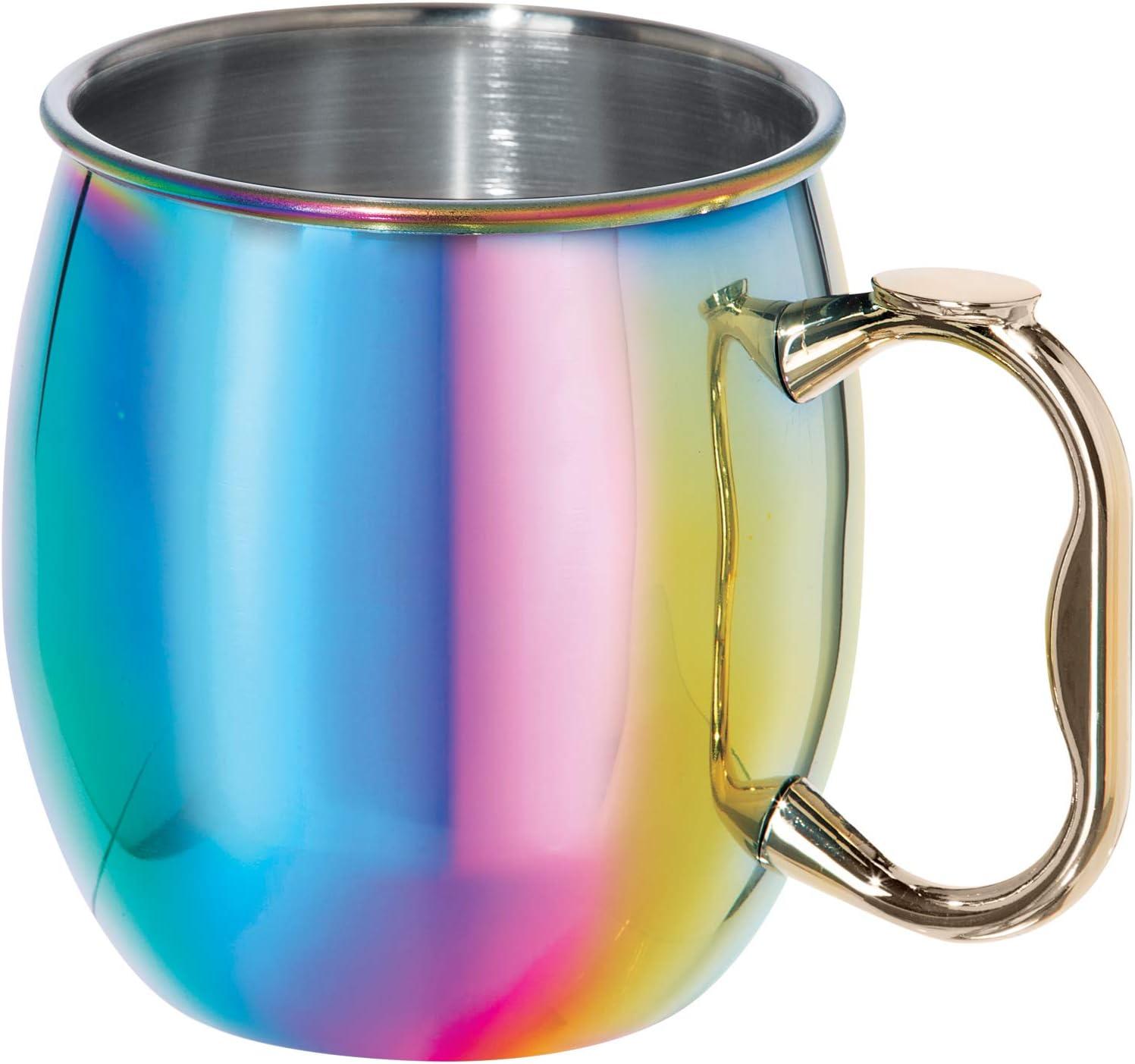 OGGI Moscow Mule Mug, 20 oz, Rainbow, 9061