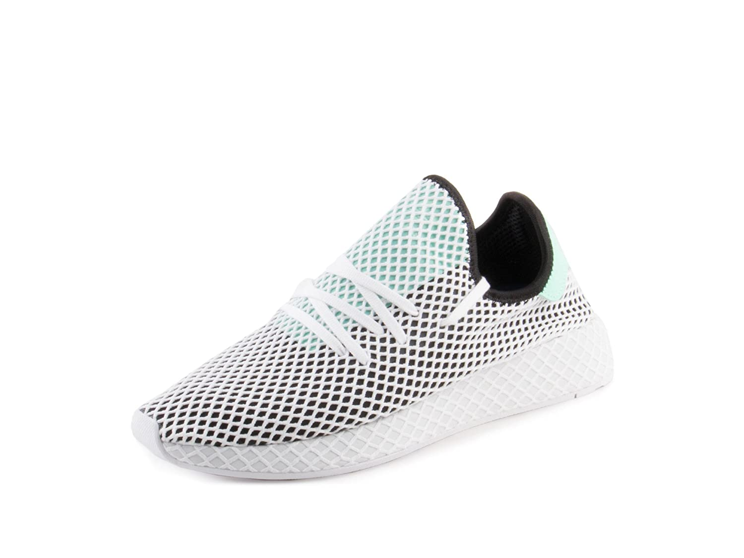 Core Black Easy Green White adidas Men's Deerupt Runner Originals Running shoes
