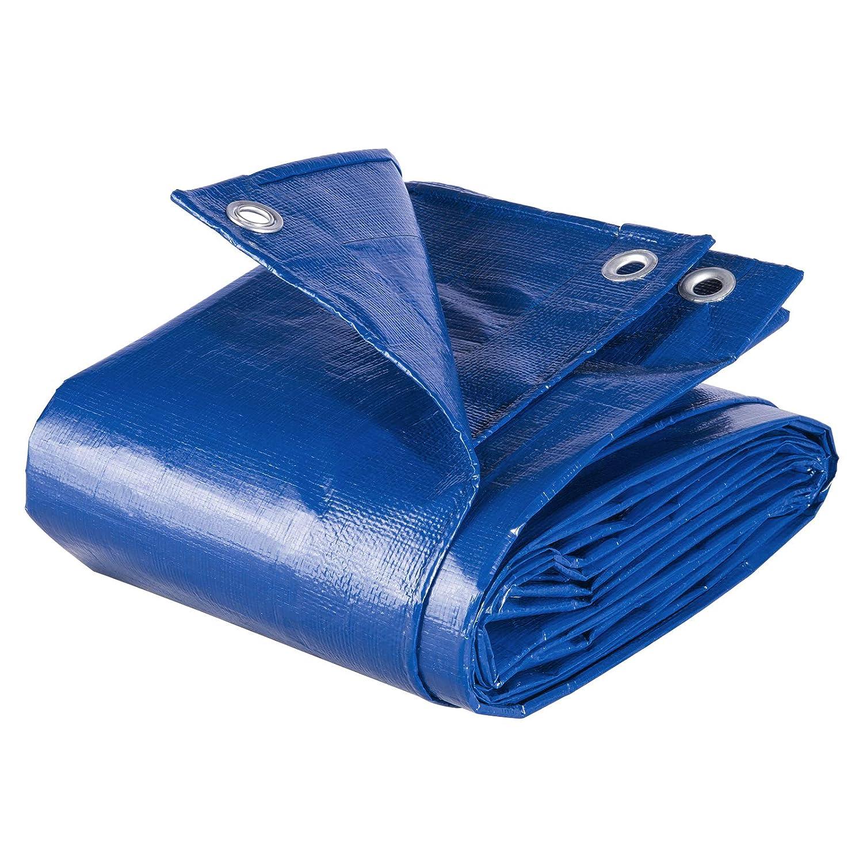 WOLTU GZ1177m4 B/âches de protection PE,couverture /étanche B/âches couverture de bateau,b/âche /étanche et ind/échirable,3x5m 280g//m/²,Blanc
