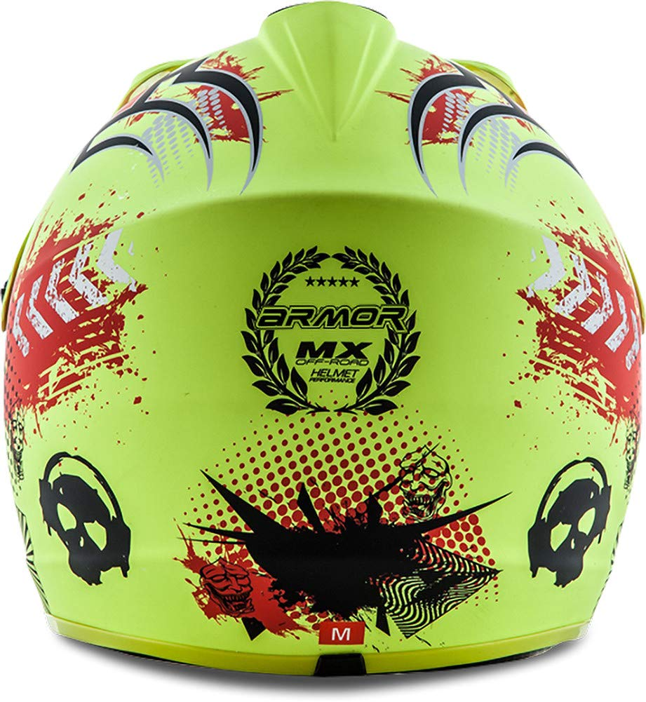 "silver /· Cross casque pour enfants /· Sport Pocket-Bike Cross-Bike MX Kids Enduro /· DOT certifi/é /· Click-n-Secure/™ Clip /· Sac fourre-tout /· XS Armor /· AKC-49 /""Titan/"" 51-52cm"