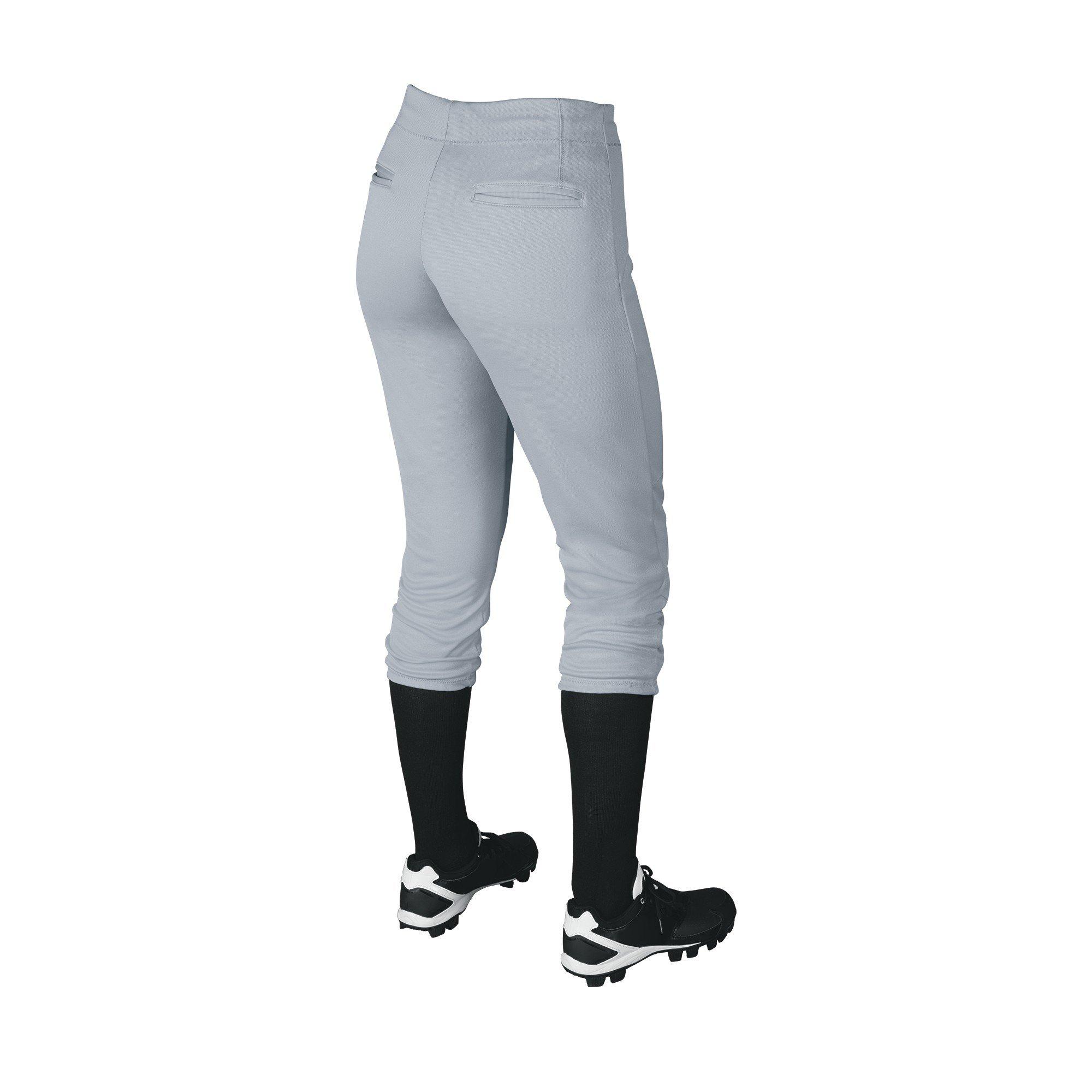 DeMarini Womens Sleek Pull Up Pant, Blue Grey, Medium by DeMarini (Image #2)
