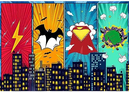 Superhero Backdrop