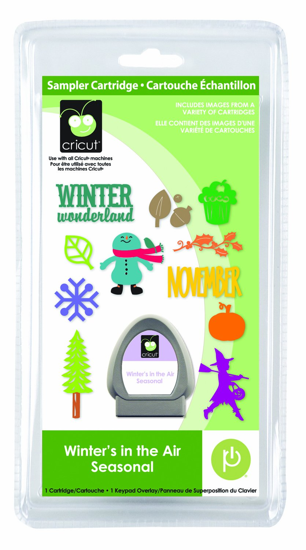 Winter's in the Air Seasonal Cricut Sampler Cartridge
