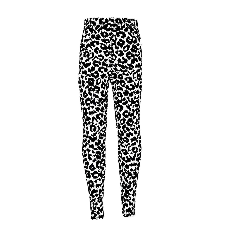 Girls Legging Kids Animal Leopard Print Fashion Stylish Trendy Leggings 5-13 Yrs