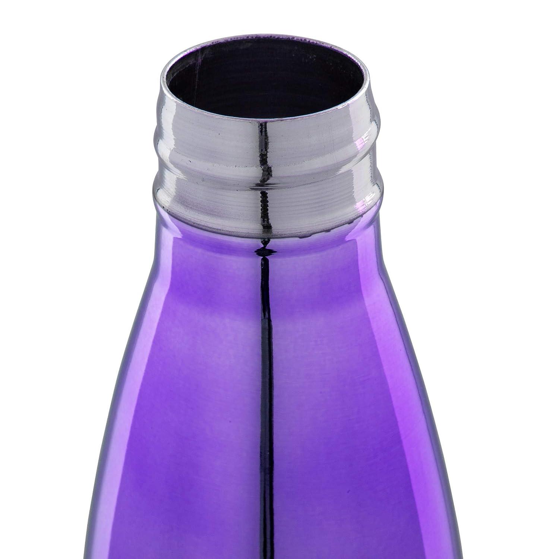 CTG 70527DC-PP Water Bottle 12 oz Purple