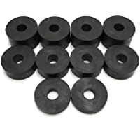 Rubberen afstandhouders, 8 mm, 10 stuks, 4 x 15 mm, 4 x 10 mm, 2 x 5 mm.