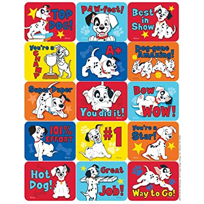 Eureka 101 Dalmatians Motivational Stickers - Success: Toys & Games