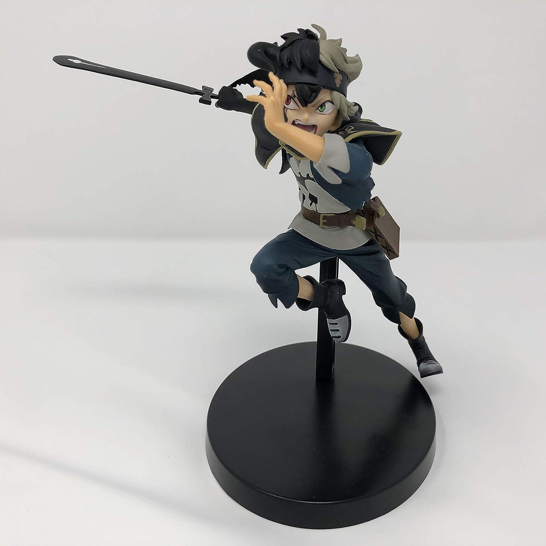 ASTA Black Clover Figura Statua 13cm DXF Originale BANPRESTO Versione A