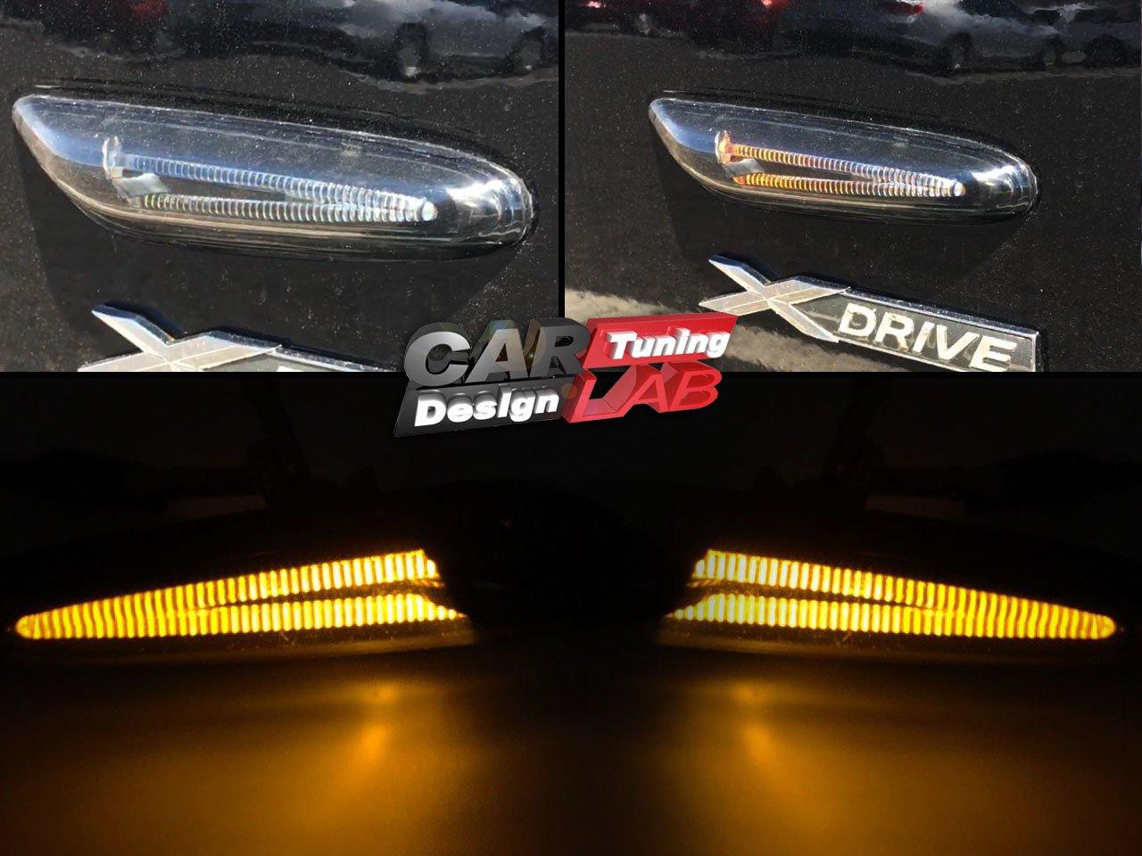 Luz antiniebla lateral LED de cristal
