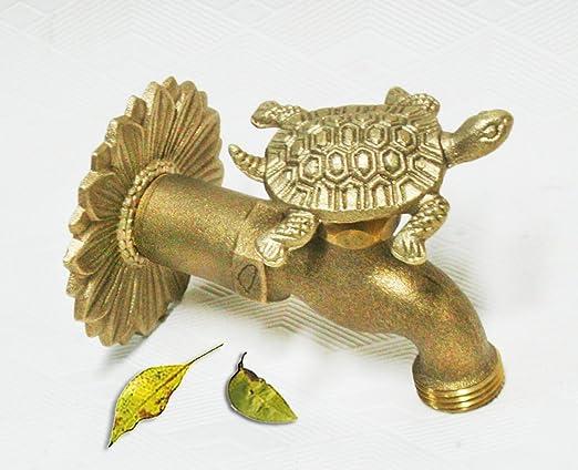 Amazon.com : Brass Turtle Garden Outdoor Faucet - 3/4\