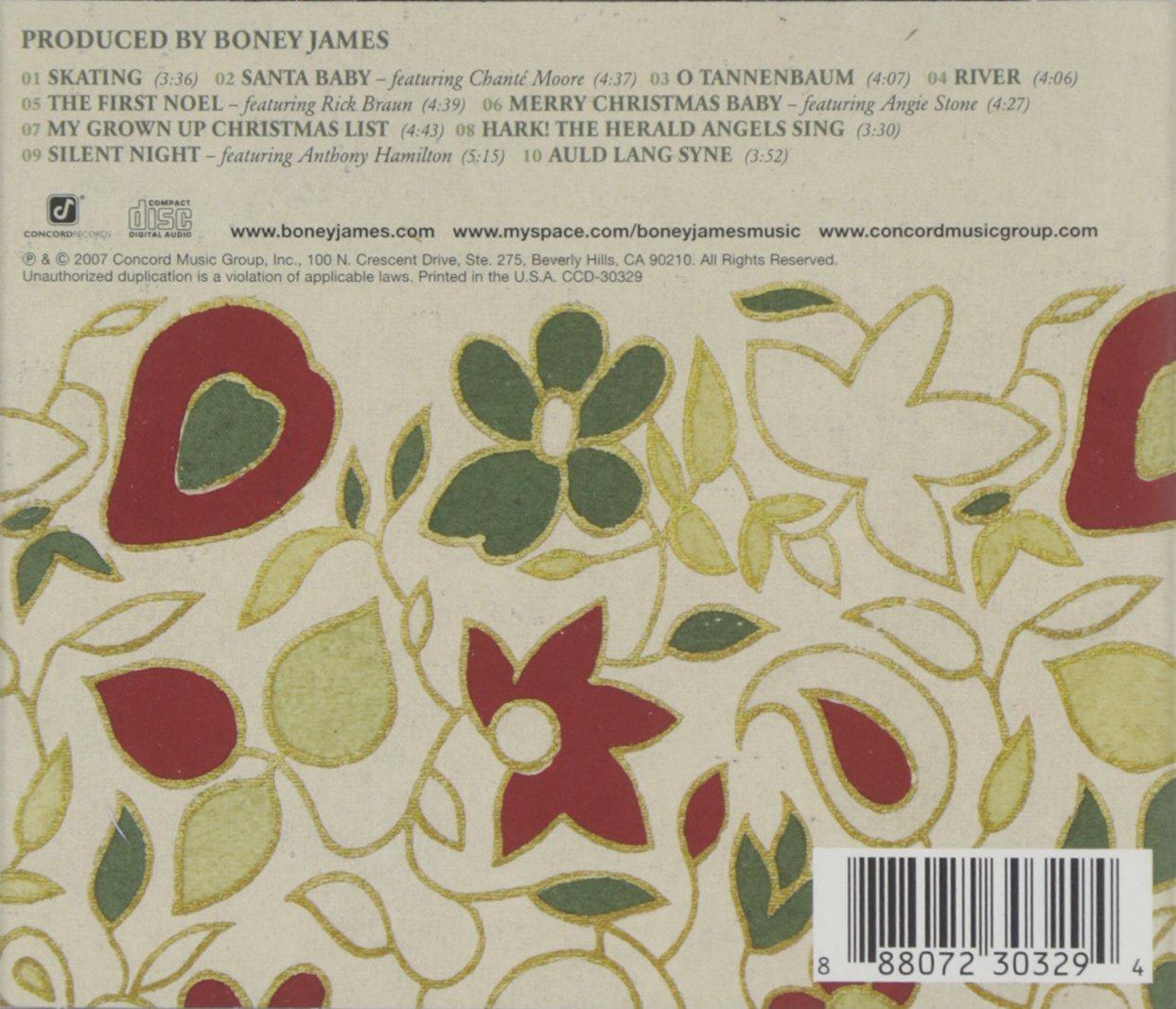 Christmas Present - Boney James: Amazon.de: Musik