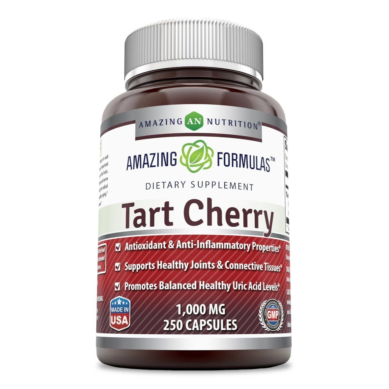 Amazing Formulas Tart Cherry Extract - 1000 Mg, 250 Capsules Economy Size