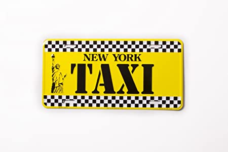 New York License Plate Metal Sign Plate Empire State 30 cm Souvenir