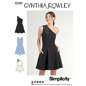 Simplicity Schnittmuster 8380 Damen Strick Kleid oder Top, Papier ...