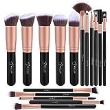 brochas de maquillaje profesional BESTOPE (Rosa)