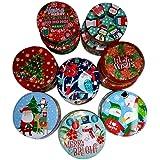 Round Nesting Tins, designs may vary
