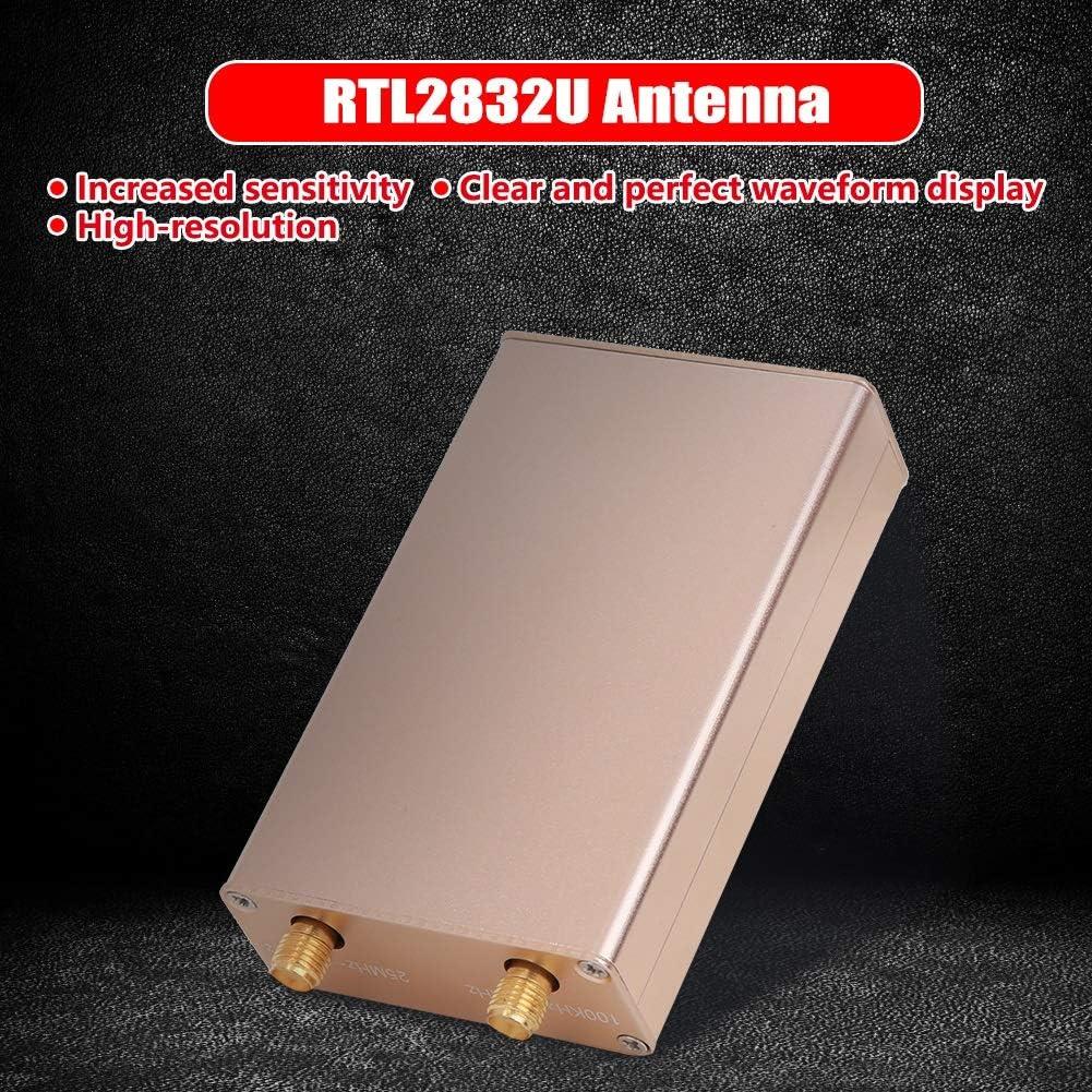 Rockyin RTL-SDR Radio Ricevitore ad Alta risoluzione 100KHz-1.7GHz SDR RTL2832U R820T2 HF Receiver SMA