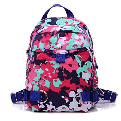 9131ffbdc23a TianHengYi Women s Lightweight Small Nylon Backpack Casual Strong Mini  Backpack Multipurpose Daypack for Girls Cycling Hiking