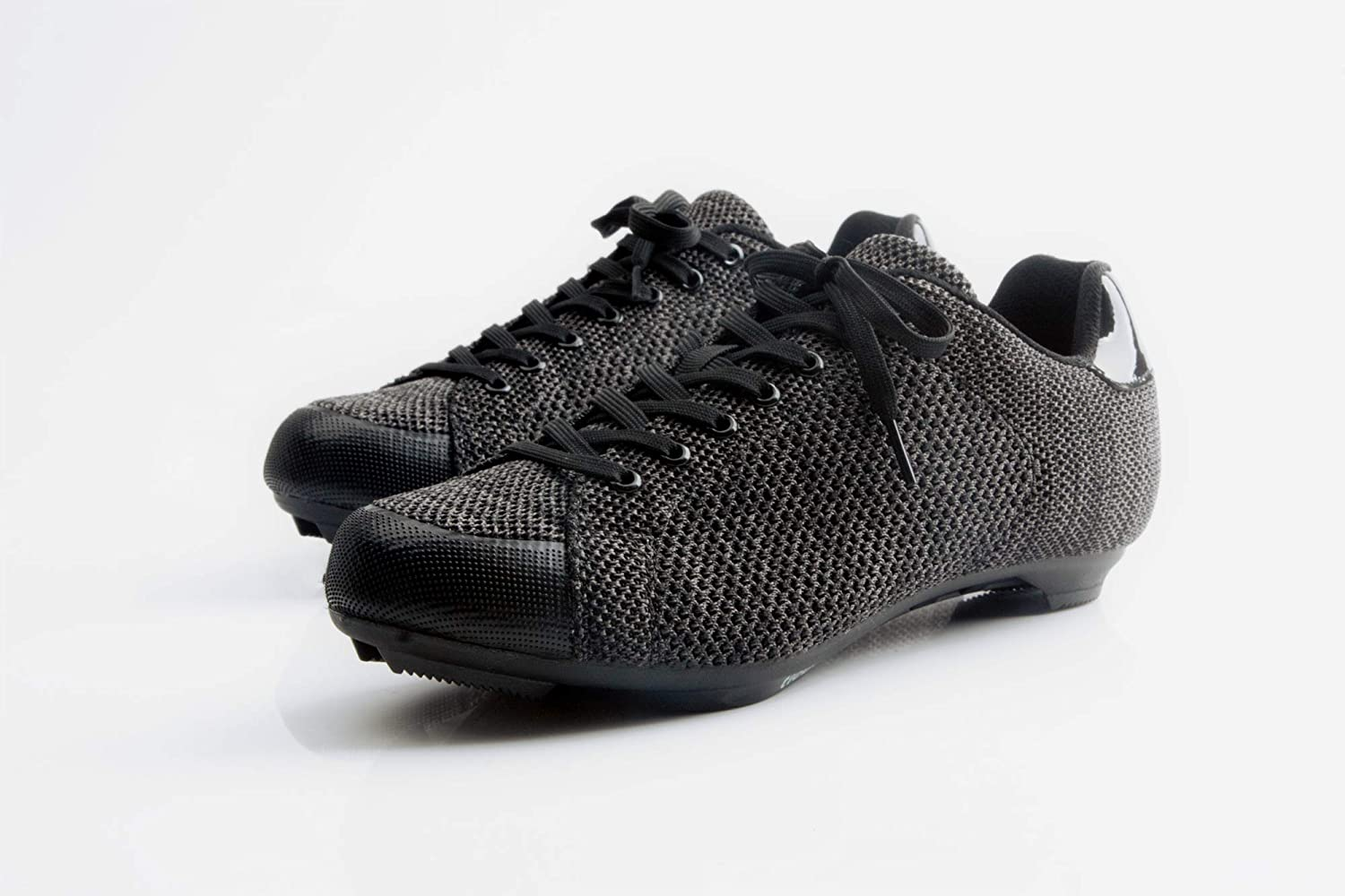 Tiebao Fly-Knit Sneaker Style Professional Road Bicycle Bike Cycling Ultralight Mesh Breathable Shoes SPD SL Look Spin Non-Slip Riding Shoes Lace-up