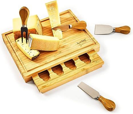 25,3 x 39,5 cm Holzbrett Käsebrett Schneidbrett Küchenbretter Frühstück