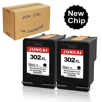 JUNCAI 302XL - Cartuchos de Tinta reciclados para impresoras HP ...