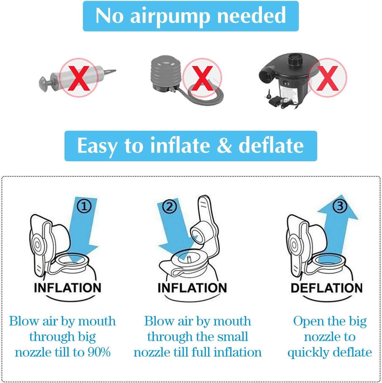 Inflatable Travel Foot Rest for Air Train Car Footrest Pillow Kids Toddlers Airplane Flat Bed Muti-Functional Adjustable Height Office Home Leg Rest Pillow Lightweight Compact Carry Grey