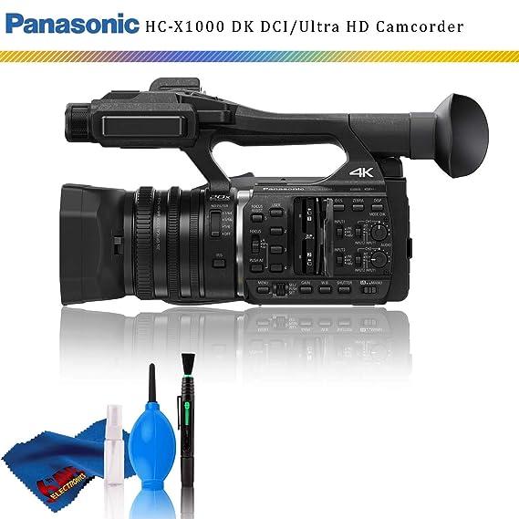 Amazon.com: Panasonic HC-X1000 4K DCI/Ultra HD/Full HD ...