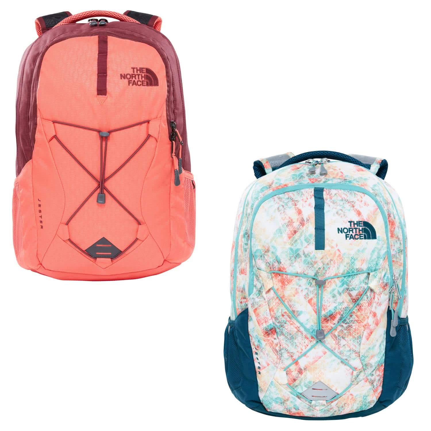 The North Face Women's Jester Laptop Backpack 15''- Sale Colors (Blue Coral