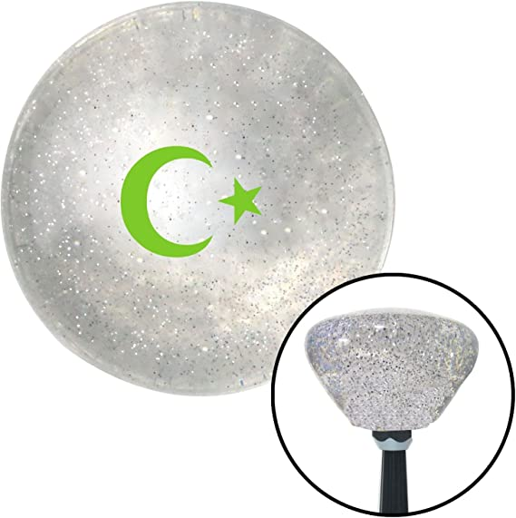 Green Military EOD American Shifter 77483 Black Metal Flake Shift Knob with M16 x 1.5 Insert