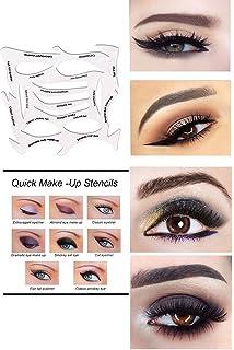 Winged Eyeliner Stencil Eyeliner Stencil - 7 style in 1 set Quick ...