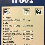 Bosch 3 397 004 801 Escobillas De Limpiaparabrisas, Negro