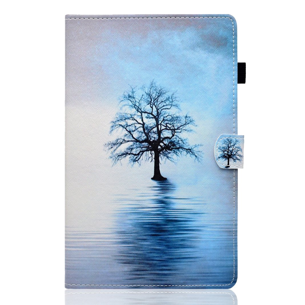 Galaxy Tab A 10.1 Folio Case Asnlove Leather Case with Stand Slim Protective Cover with Stand Function and Auto sleep//wake up credit card slots For Samsung Galaxy Tab A 10.1 inch T580//T585 Tablet
