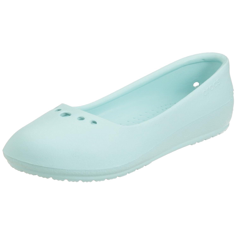 cb6059afa5bde1 Crocs Women s Prima Ballet Flat  Amazon.co.uk  Shoes   Bags