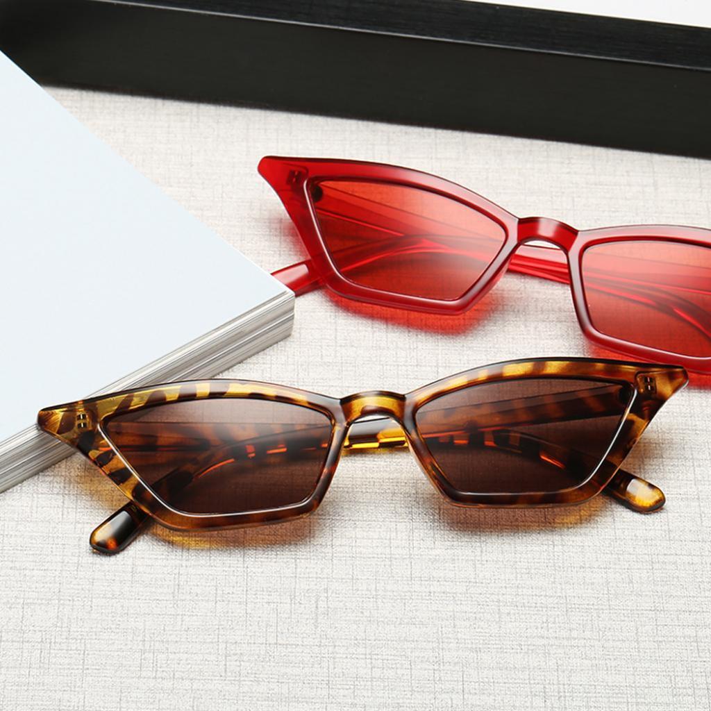 MagiDeal Womens Cat Eye Sunglasses Retro Classic Designer Vintage Fashion Shades Eyewear