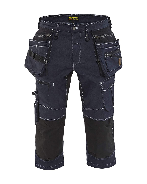 Bl/åkl/äder Handwerker Hosen Strech X1900 Marineblau// Schwarz C44 in Cordura/® Denim-Stretch