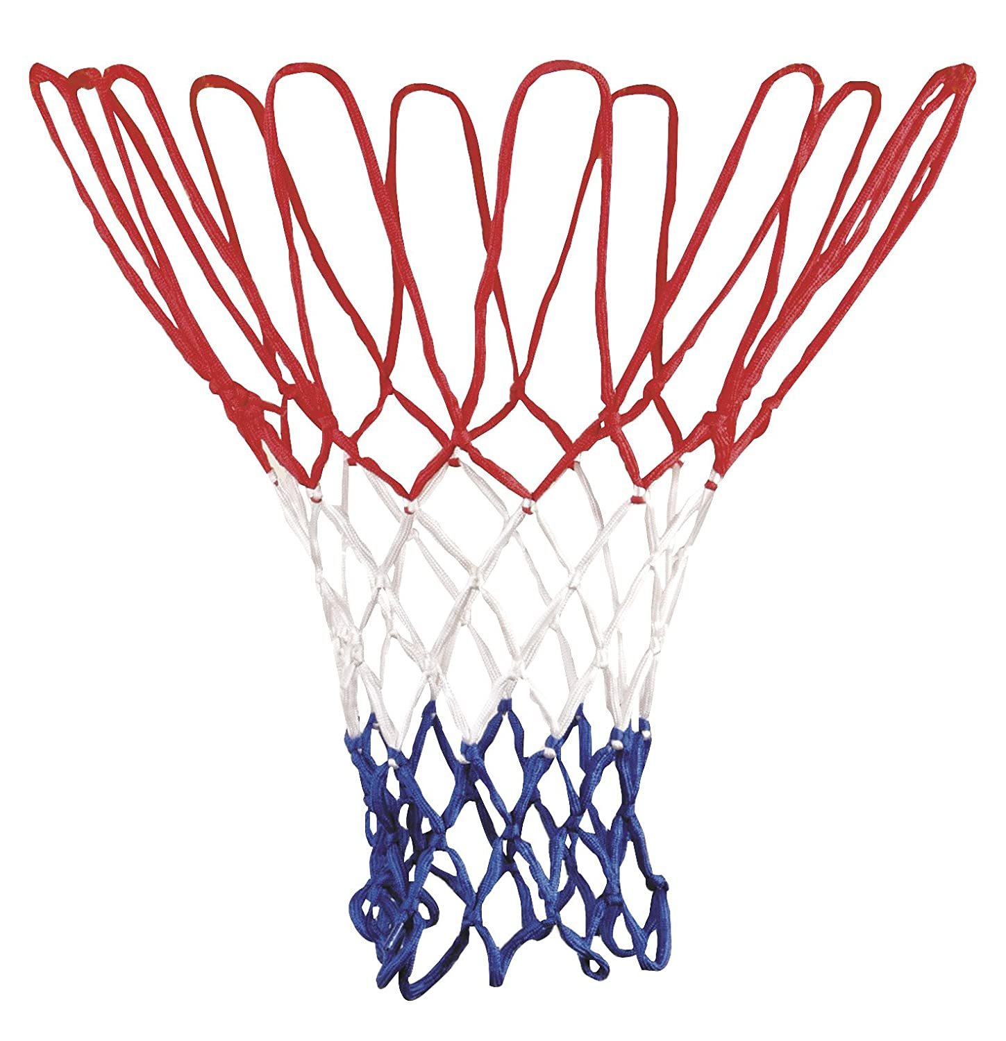 Nankod Red de Baloncesto Universal Blanco y Azul Color Rojo 5 mm