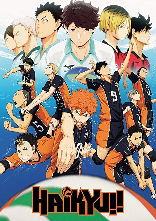 Haikyu!! Cast Anime Poster (24 x 36 inches): Amazon.ca: Home & Kitchen