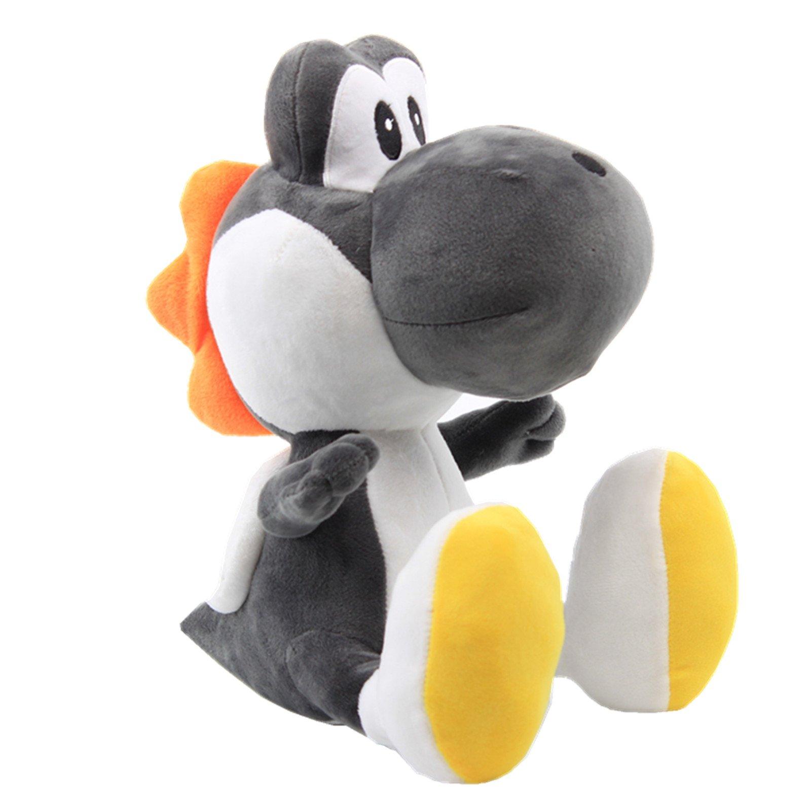 uiuoutoy Super Mario Bros. 12'' Black Yoshi Stuffed Plush by uiuoutoy