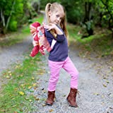 Soft Baby Doll With Take Along Pink Doll Backpack