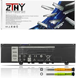 ZTHY New 38Wh 3Cell F62G0 Laptop Battery for Dell Inspiron 13 5370 7000 7370 7373 7380 7386 P83G P83G001 P83G002 P87G P87G001 Vostro 5370 D1525S D1505G R1605S D2505G Series F62GO RPJC3 39DY5 CHA01