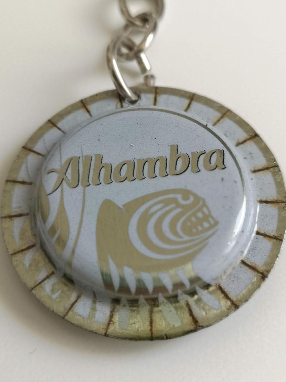 Llavero ALHAMBRA BLANCA: Amazon.es: Handmade