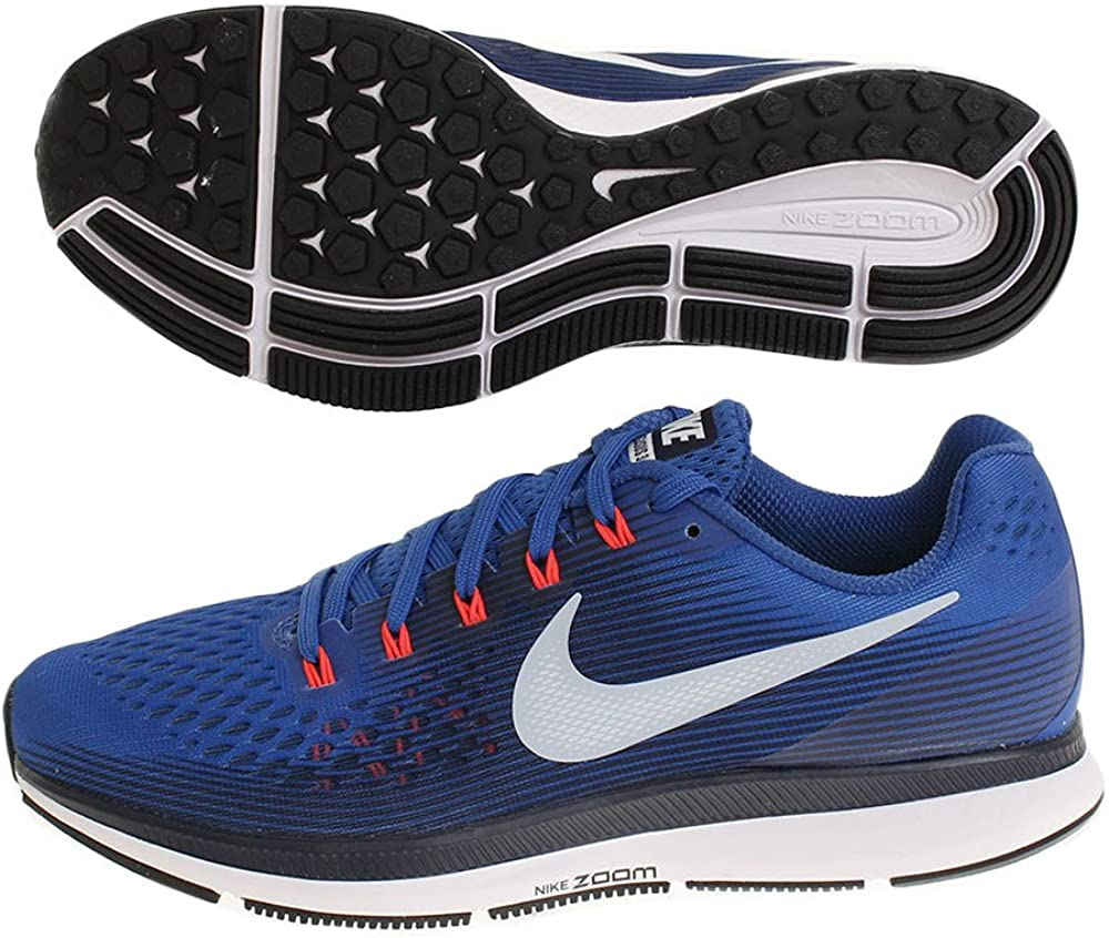 NIKE Air Zoom Pegasus 34, Zapatillas para Hombre, Multicolor (Blue Jay/Lt Armory Blue/Obsidian 001), 39 EU: Amazon.es: Zapatos y complementos