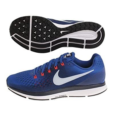 dfdaa2532b Image Unavailable. Image not available for. Color: Nike Men's Air Zoom  Pegasus 34, Blue Jay/LT Armory ...